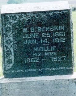 Mary Ann Mollie <i>Snider</i> Benskin