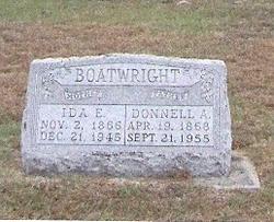 Ida Elizabeth <i>Buntin</i> Boatwright