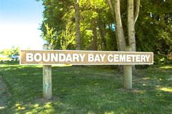 Boundary Bay Cemetery