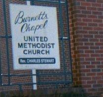 Burnetts Chapel United Methodist Church Cemetery