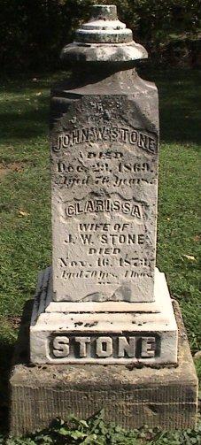 Clarissa <i>Holcomb</i> Stone