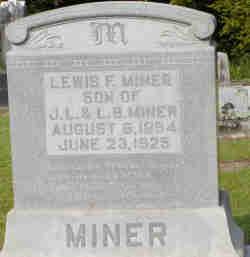 Lewis F Miner