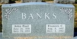 Francis C. <i>Chalfant</i> Banks
