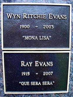 Wyn Mona Lisa <i>Ritchie</i> Evans