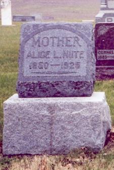 Alice Lavina <i>Bartram</i> Nute