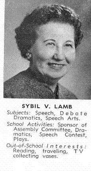 Sybil V Lamb