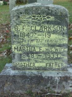 Martha Francis <i>Cole</i> Clarkson