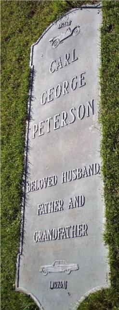 Carl George Peterson