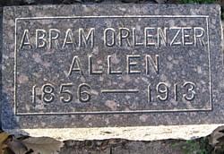 Dr Abram Orlenzer Allen