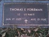 Thomas E Foreman