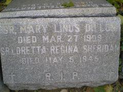 Sr Mary Linus Dillon