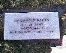Herman Fredrick Bahls