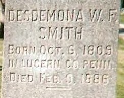Desdemona Wadsworth <i>Fullmer</i> Smith