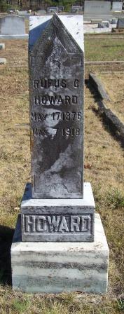 Rufus C Howard
