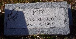 Ruby Leota <i>Milam</i> Blue