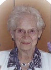Evelyn Margaret <i>Olson</i> Beusch