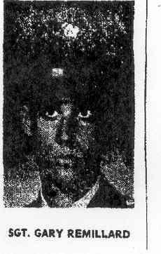 Sgt Garry E. Remillard
