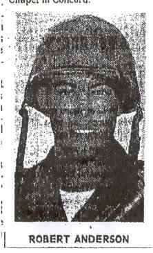 Sgt Robert Eugene Anderson
