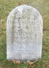 Lucretia <i>Woolsey</i> Chamberlin