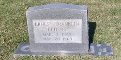 LCpl Ernest Franklin Elders