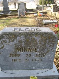 Minnie <i>Millsaps</i> Flood
