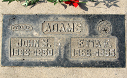Henrietta Frances Etta <i>Laird</i> Adams