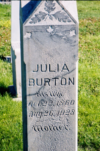 Julia Maria <i>Burton</i> Whitney