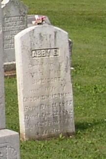 Abby E. <i>Sweigart</i> Zimmerman