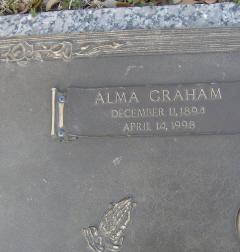 Alma Lucille <i>Graham</i> Conner