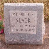 Mildred Sarah <i>Hinkle</i> Black