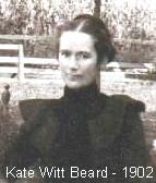 Mary Kate Katherine <i>Witt</i> Beard