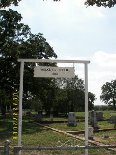 Walkers Creek Cemetery