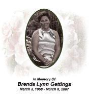 Brenda Lynn Gettings