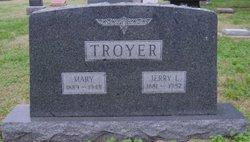 Mary <i>Thomas</i> Troyer