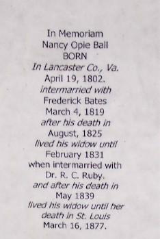 Nancy Opie <i>Ball</i> Ruby