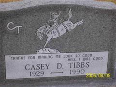 Casey Tibbs Casey Tibbs