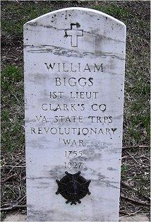 Lieut William Biggs