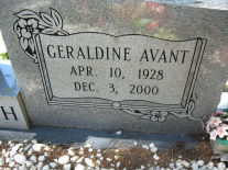 Geraldine Marie <i>Avant</i> Randoplh