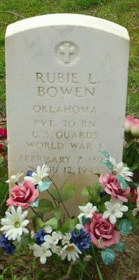 Rubie L Bowen