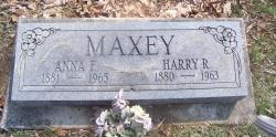 Anna F. <i>Grinslade</i> Maxey