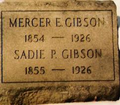 Sarah Sadie Purvis <i>Stewart</i> Gibson