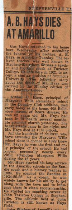 Arthur B. Hays