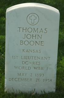 Thomas John Boone