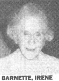 Irene Agnes <i>Asenjo</i> Barnette