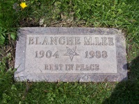 Mary Blanche Blanche <i>McGarry</i> Lee