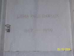 Litha Page <i>Hume</i> Dawson