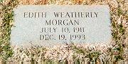 Sarah Edith <i>Weatherly</i> Morgan