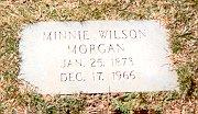 Laura Augusta Minnie <i>Wilson</i> Morgan