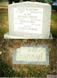 Hannah B <i>Addison</i> Beckman