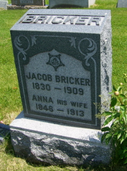 Pvt Jacob Bricker